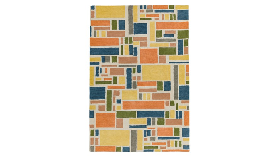 Reef Rug - Blocks Multi