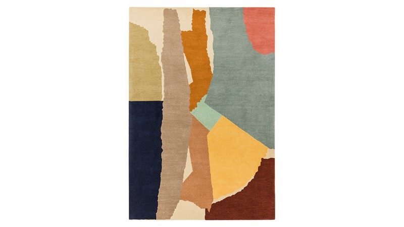 Reef Rug - Abstract Multi