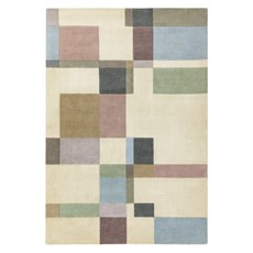 Reef Rug - Blocks Pastel