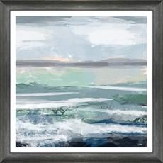 Choppy Waters Framed Print
