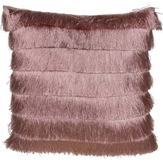Gatsby Fringe Cushion Pink