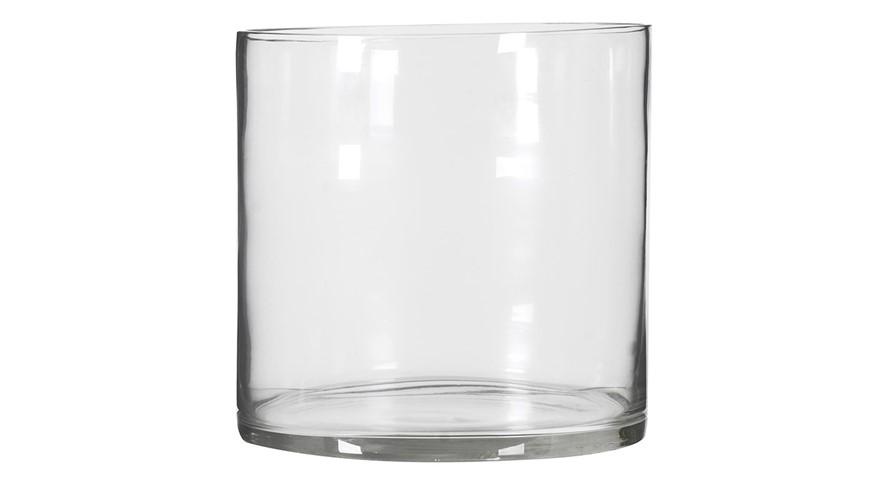Large Wide Glass Vase