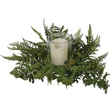 Boston Fern Candle Holder