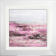 Blush Coast 1 Framed Print