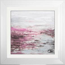 Blush Coast 2 Framed Print