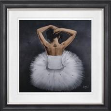 Vegas Ballerina 1 Framed Print