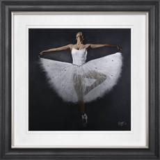 Vegas Ballerina 2 Framed Print
