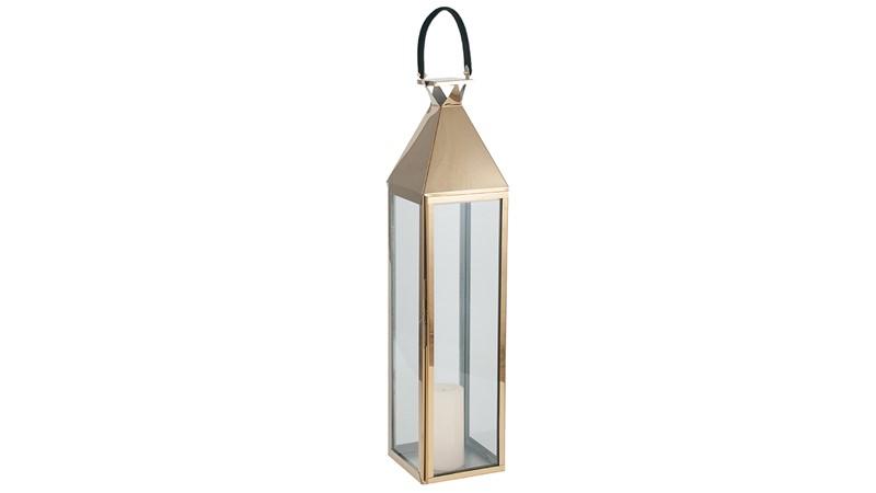 Large Shiny Gold Lantern