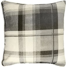 Balmoral Check Cushion - Slate