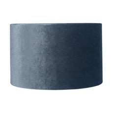 Velvet Cylinder Shade - Slate