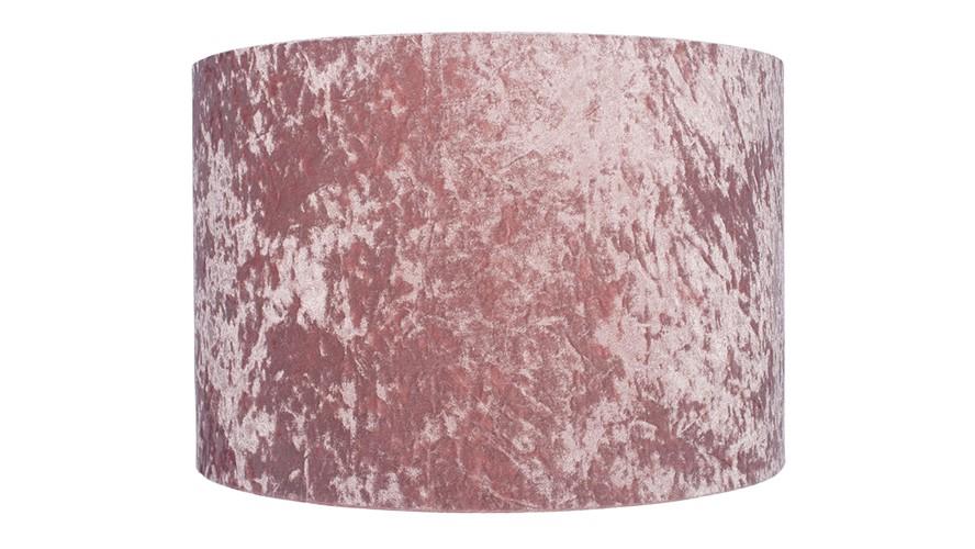 Crushed Velvet Shade - Blush