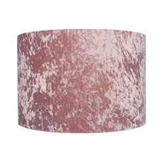 Crushed Velvet Shade - Blush