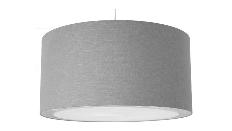 Linen Diffuser Easy Fit Pendant - Grey