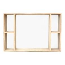 Wall Mirror & Shelves