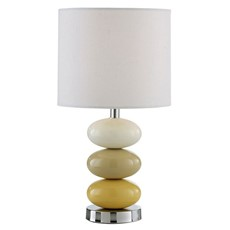 Mia Table Lamp - Ochre
