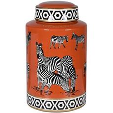 Zebra Jar - Ginger