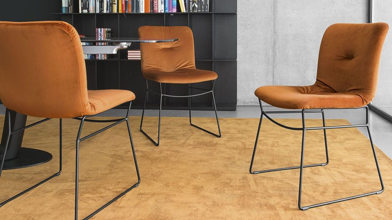 Calligaris Dining Chairs Annie Soft Dining Chair