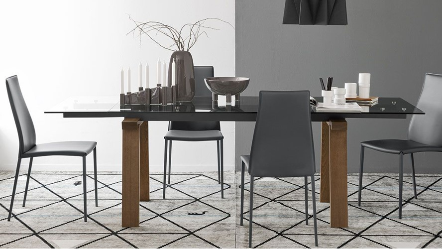 Calligaris Dining Tables Levante Extending Table