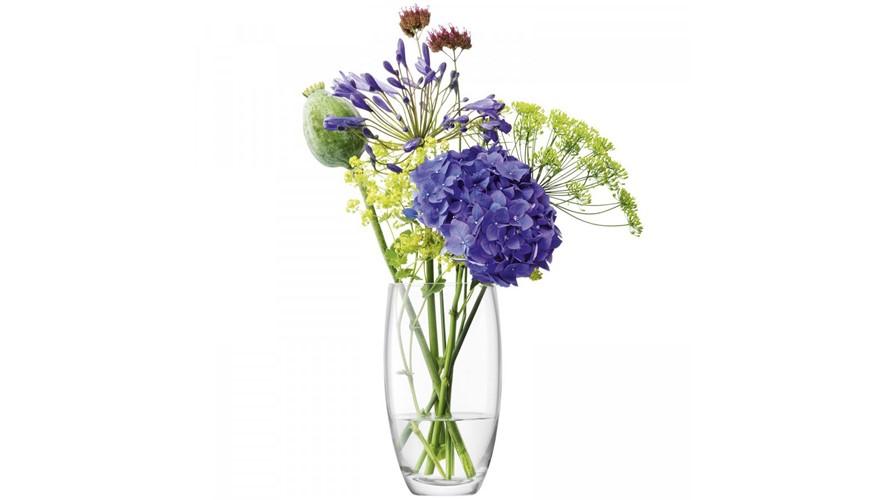Small Barrel Bouquet Vase