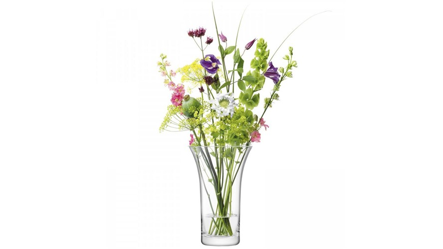 Large Flared Bouquet Vase