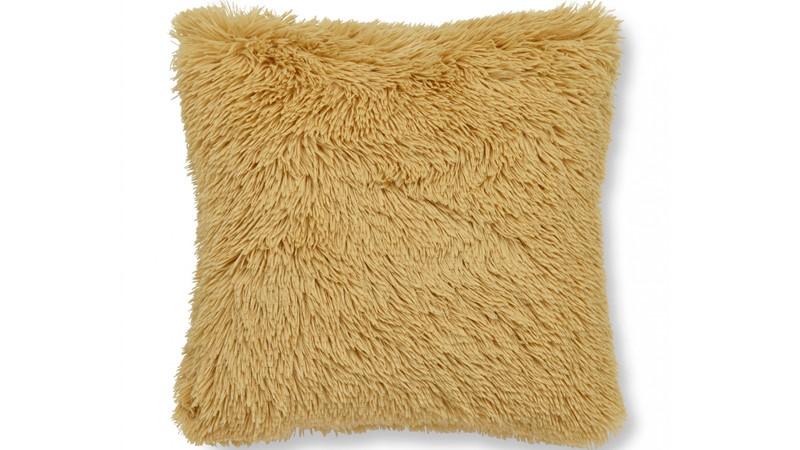 Catherine Lanfield Cuddly Soft Cushion - Ochre