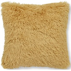 Catherine Lanfield Cuddly Soft Cushion - Ochre