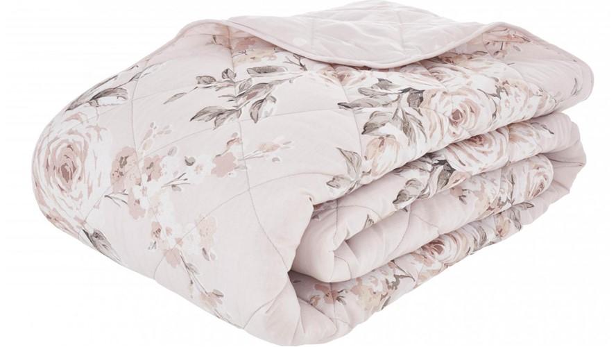 Catherine Lansfield Canterbury Bedspread - Blush