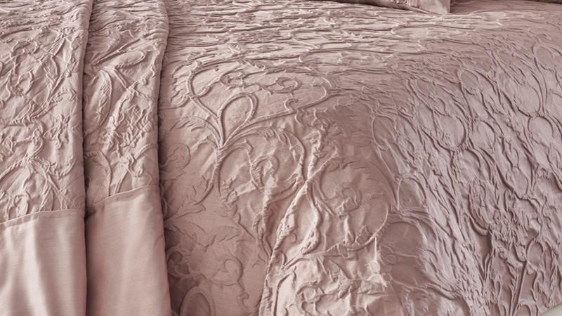 Bentley Bedspread Set - Blush