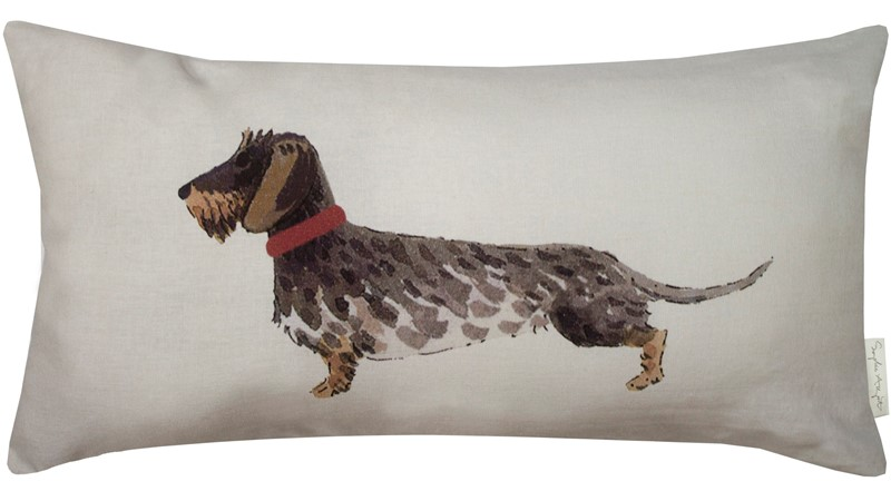 Sophie Allport Dogs Cushion - Natural