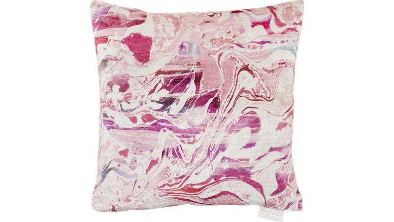 Passaic Square Cushion - Coral