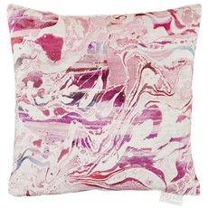 Passaic Square Cushion - Coral