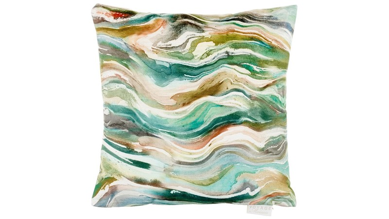 Verde Square Cushion - Forest