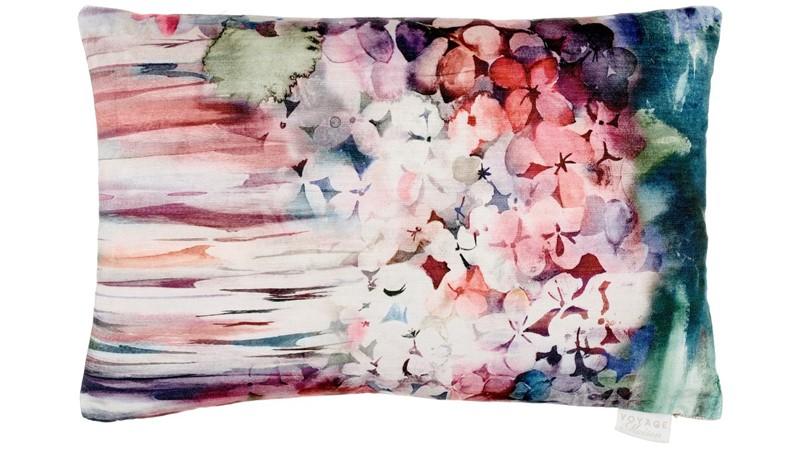 Sisa Rectangle Cushion - Coral