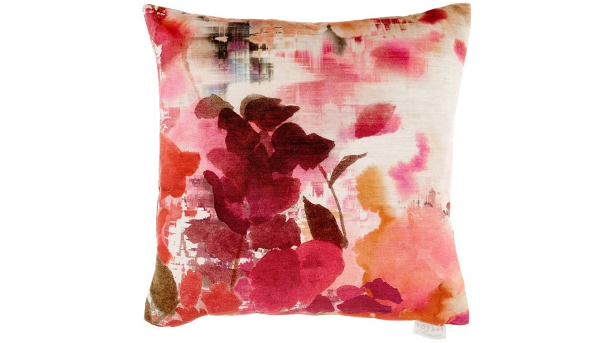 Varese Square Cushion - Coral