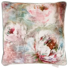 Roseum Square Cushion - Coral