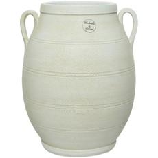 Terracotta Jar Vase - Cream