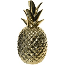 Porcelain Pineapple - Gold