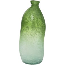 Antique Recycled Glass Vase