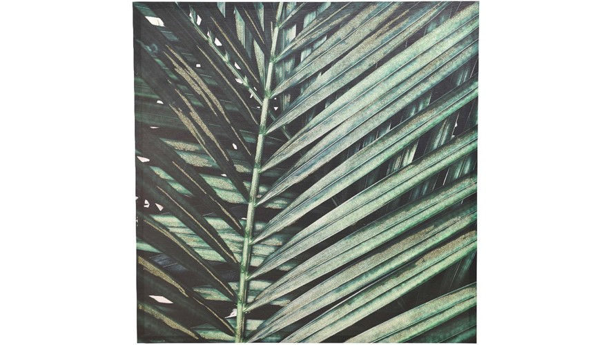 Palm Leaf Painting Canvas