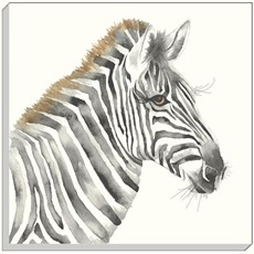 Safari Zebra Canvas