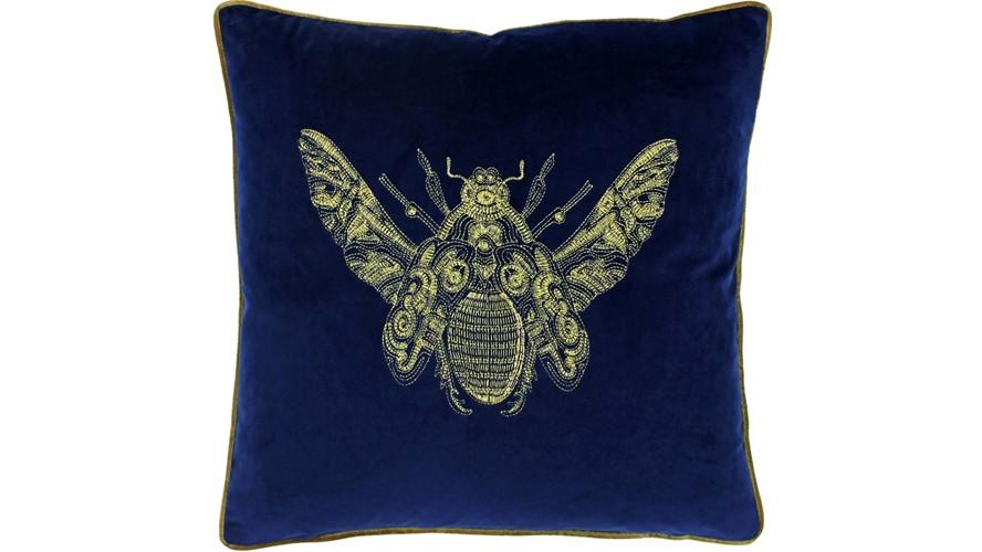 Cerana Square Cushion - Blue