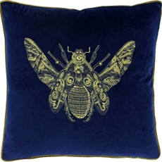 Cerana Square Cushion - Blue