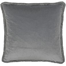 Freya Square Cushion - Silver