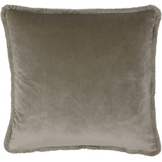 Freya Square Cushion - Taupe