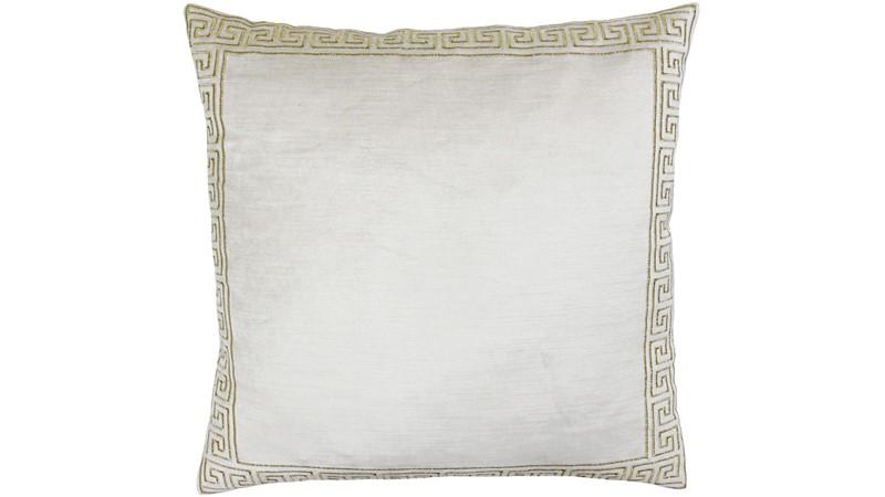 Apollo Square Cushion - Ivory
