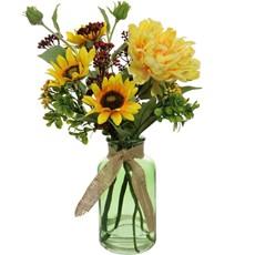 Sunflower & Peony - Funnel Yellow