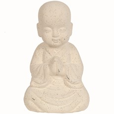 Buddha Praying - Cream