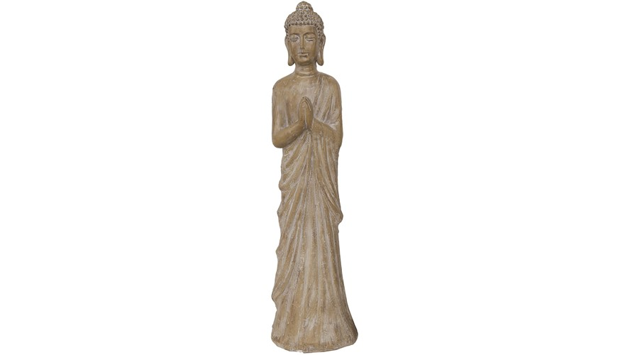 Brown Buddha Statue - Large