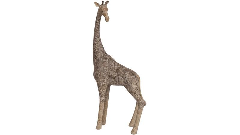 Standing Giraffe - Brown