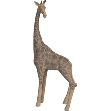 Standing Giraffe - Brown